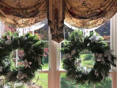 Christmas Decorations- DIY Christmas Wreath Beautiful & Inexpensive! CleanCut Hacks