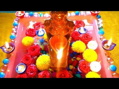 Diwali Decoration Ideas at Home || Easy Diwali DIY || Diya Decoration || Diwali DIY Ideas ||
