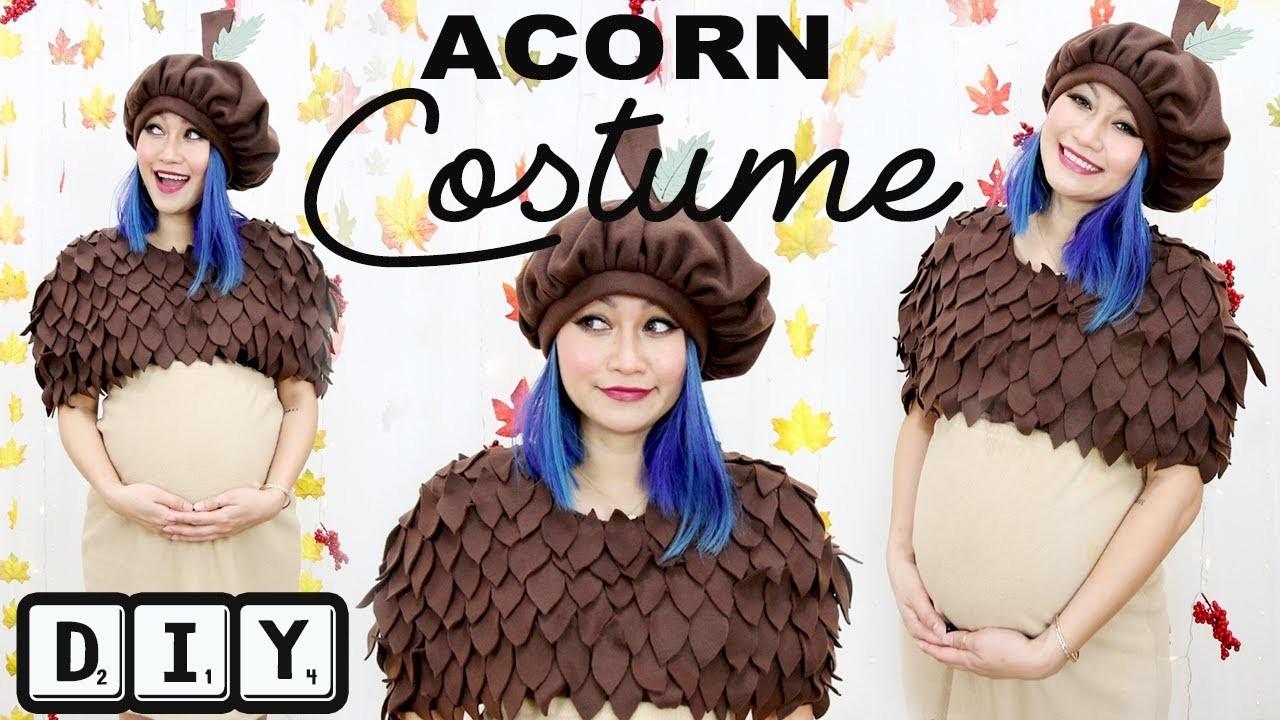 DIY: Acorn Costume