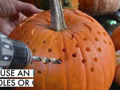 DIY: Carve perfect Halloween pumpkins that will light up the night