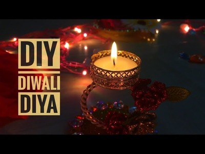 DIY Diwali Diyas Decoration | Diwali Decor | (Easy. Creative)