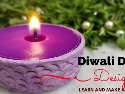 DIY | Easy Diwali Diya for Home Decoration