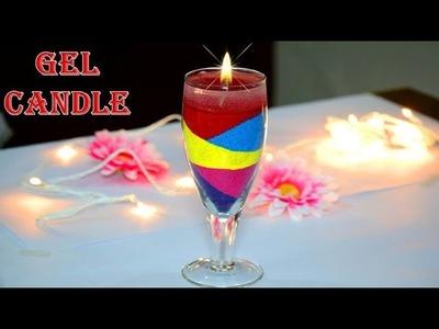 DIY Easy Quick and Best Diwali special Gel Diya Candle Making | Diwali. Christmas Decoration ideas
