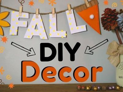 DIY Fall Home Decor | Pine Cone Bouquet