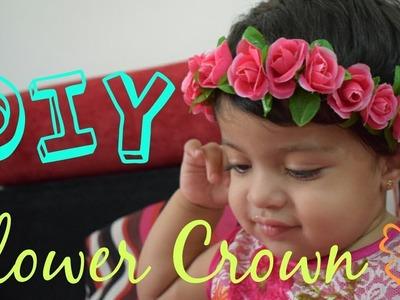 DIY Flower Crown. how to make flower crown