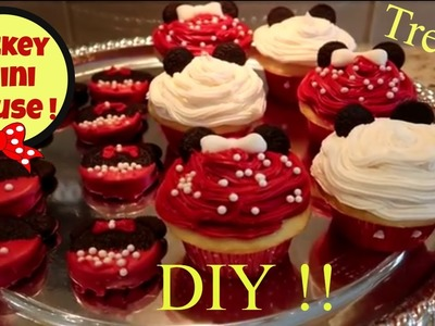 DIY Fun & Easy Disney Mickey Mouse Treats! Belle! Cruella De Ville! Party Ideas! Family Fun!