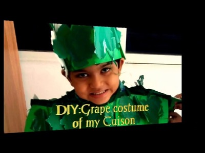 DIY:Grape Costume of my Cuison