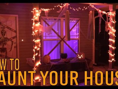 DIY - Halloween Front Porch Decor