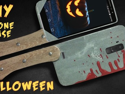 DIY HALLOWEEN PHONE CASE: For any phone