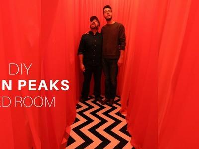DIY Halloween Twin Peaks Red Room