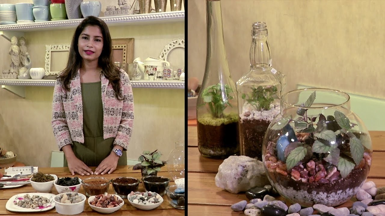 DIY | How To Make A Terrarium At Home In Less Then 10 Minutes.
