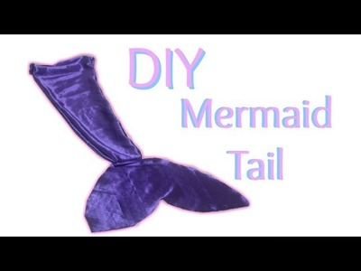 DIY Mermaid Tail | Quick and Easy