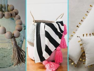 ❤ DIY Shabby chic style Tassel decor Ideas ❤   Home decor & Interior design   Flamingo Mango