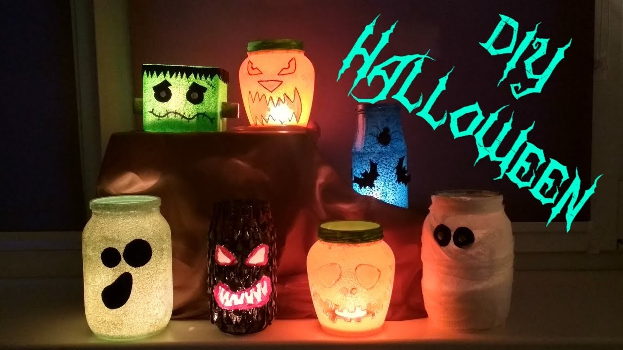 DIY Simple Decoration Ideas for Halloween part 1