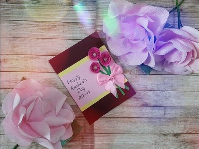 DIY - Teacher's Day Card #4
