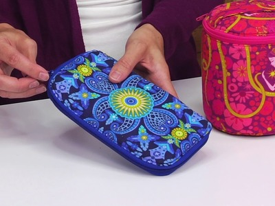 DIY Wallet and Traincase Sewing Dies by Sew Sweetness | Sizzix Quilting