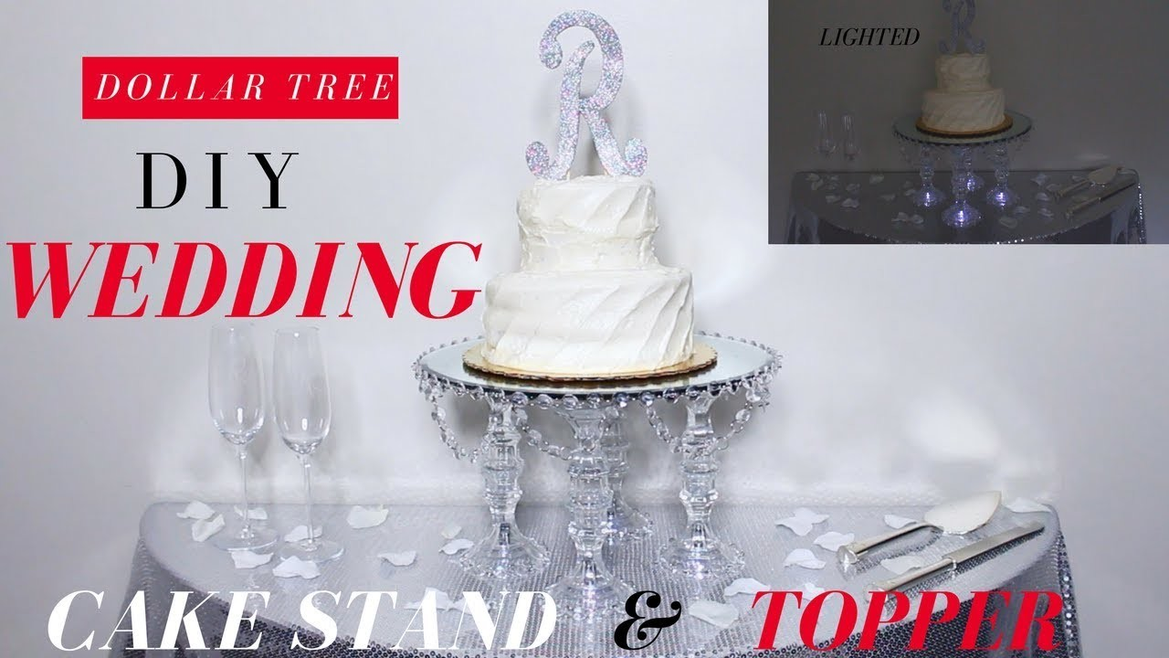 diy wedding cake platform diy wedding cake stand amp topper dollar tree wedding diy 13636