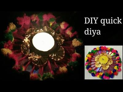 Diya decoration idea DIY for diwali