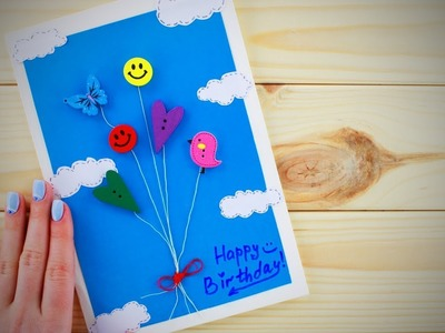 Do It Yourself Gifts ✨Easy DIY Birthday Card Ideas [Life Hacks]