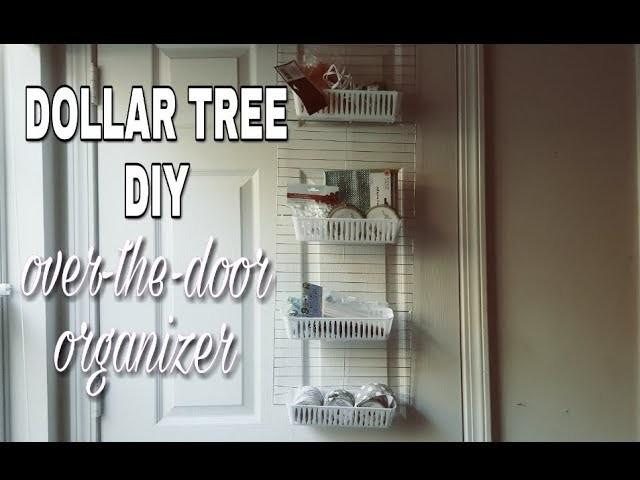 Dollar Tree Diy Over The Door Crafting Organizermakeup Organizer No