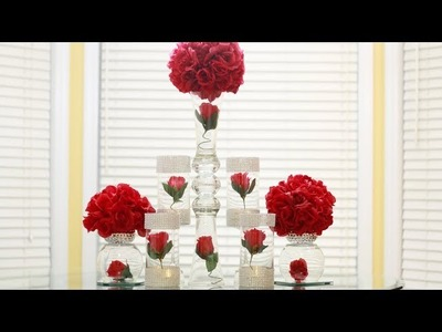 Dollar Tree Wedding Centerpiece DIY