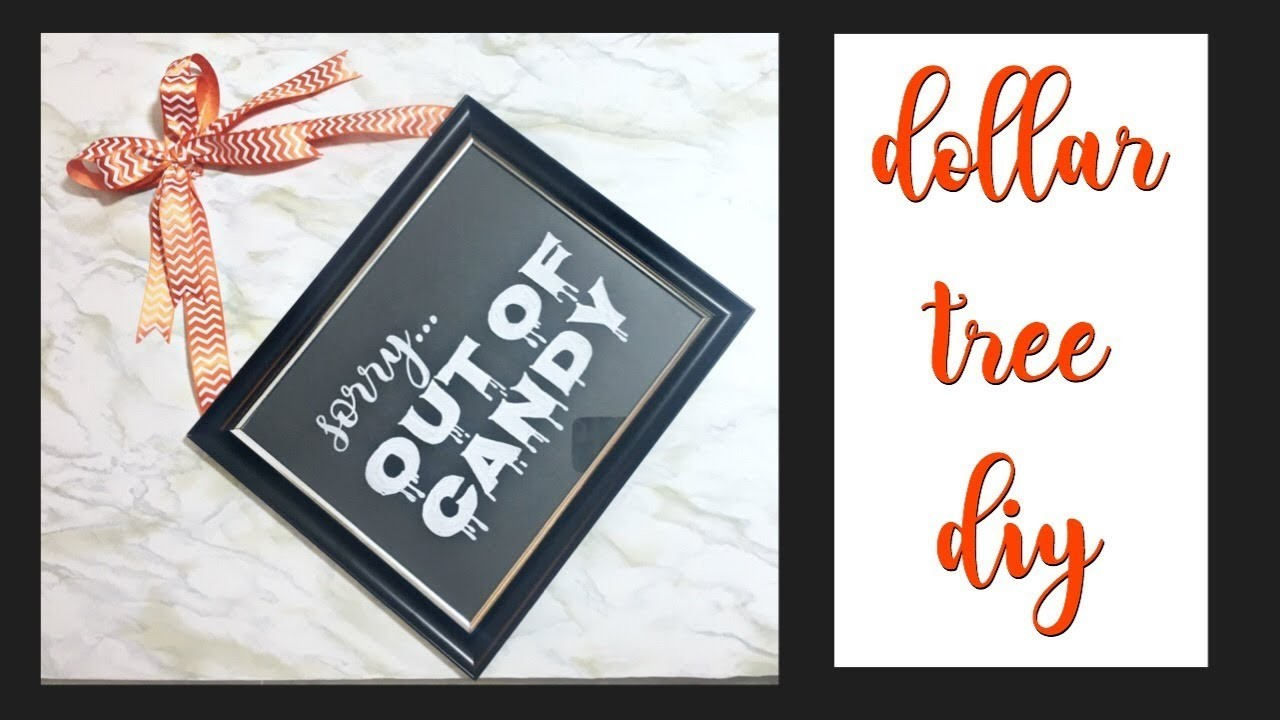 Easy DOLLAR TREE halloween DIY & testing ornament markers!
