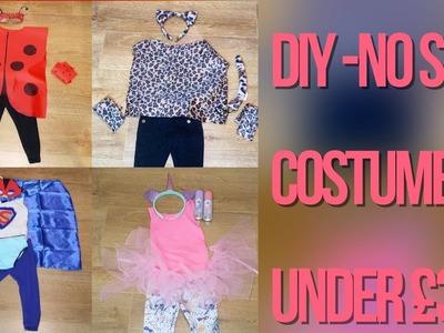Easy kids Costume Ideas