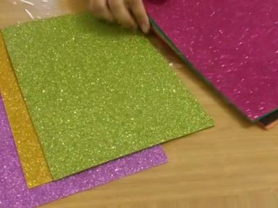 Foam sheet.DIY easy makeup oganizer using tin