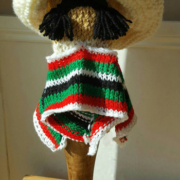 fun mexican bandit golf club head cover in 2 colour choices for a driver