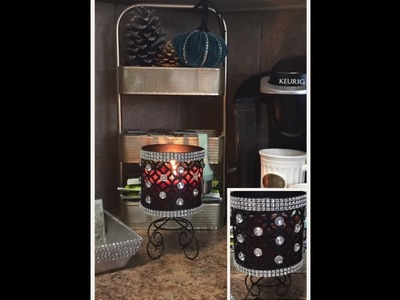 HOT ITEMS DIY Hacks Candle Holders Inspired Bath And Body Works Chit Chat With Me Creating Elegance