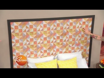 How to DIY a Headboard With Leftover Tile | Rachael Ray Show