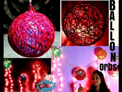 How to make balloon orbs in hind ll Easy DIY Decoration