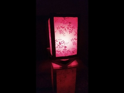 Make the festival of Diwali more colourful with this DIY Lamp