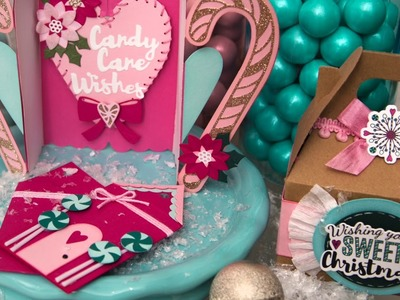 Make yourself a DIY Sweet Christmas with Jen Long | Sizzix