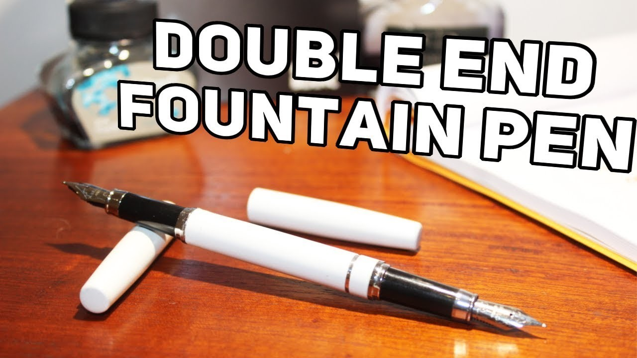 Making A Double Ended Fountain Pen - Fountain Pen DIY