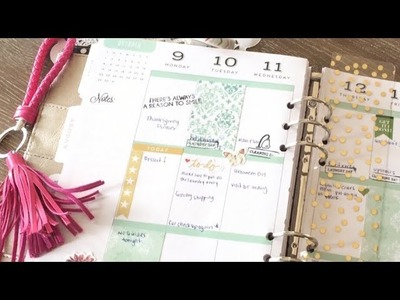 Plan with me|Happy Planner Plan with Me|DIY Planner Stickers