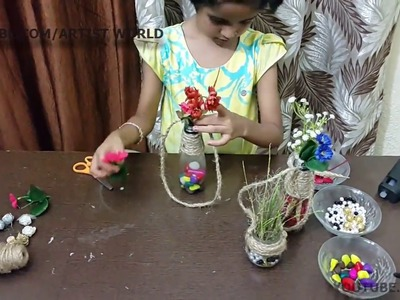 Wall hanging from waste| made by Reva dhas|home made Decoration|DIY