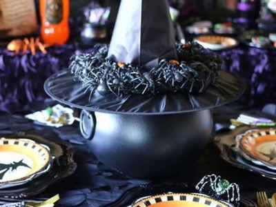 Witch-Themed Halloween Decorations To Create An Ambience | Hellowen DIY Decoration
