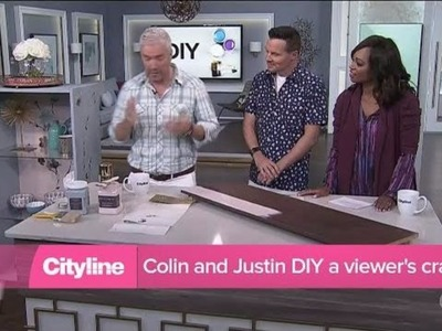 Colin and Justin DIY a viewer's cradenza