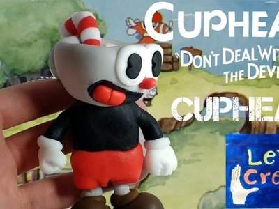Cuphead (Cuphead dont deal with the devil) - Polymer Clay. Cold Porcelain