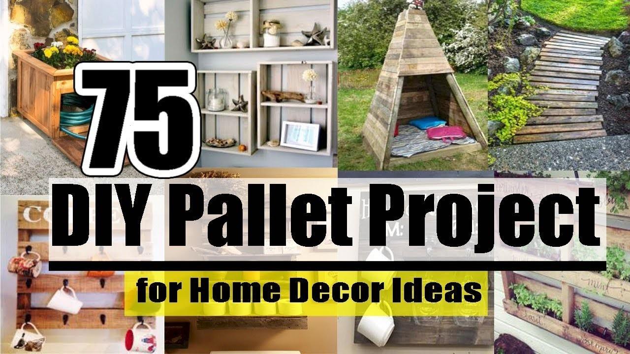 DIY   75 DIY Pallet Project for Home Decor Ideas