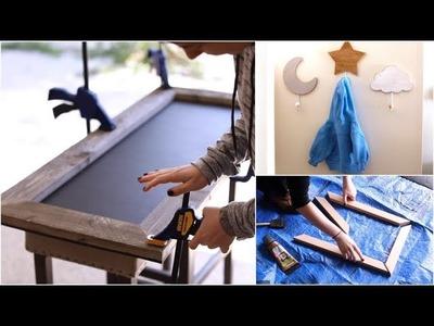 DIY Chalkboard & Frame + Baby Room Decor