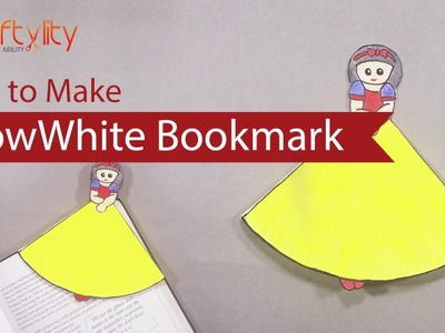 DIY Disney Princess Snow White Bookmark | How to Make Disney Princess Snow White Bookmark