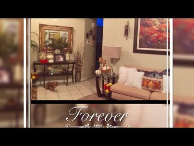 DIY Home Decor Fall Tour Elegant Interior Ideas Glam Living Room Creating Elegance for Less 2017