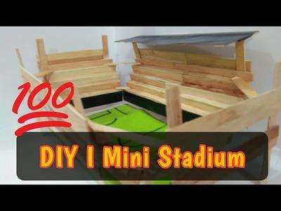 DIY Mini Stadium - Popsicle Stick -How to make