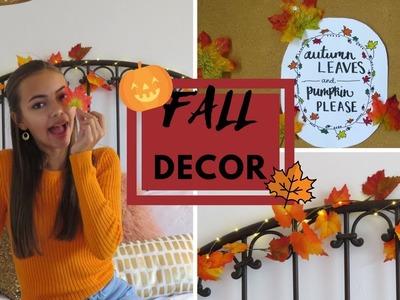 DIY Pinterest Inspired Fall Room Decor 2017!
