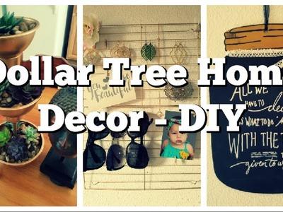 Dollar Tree DIY Decor - Succulents & Mason Jars