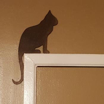 Door frame cats