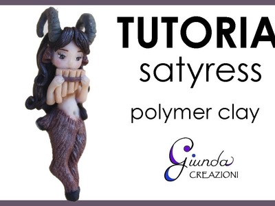 [ENG] Satyress in polymer clay. DIY satyr fimo