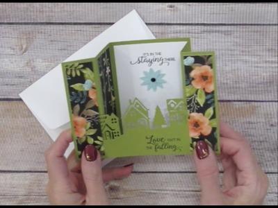 Finger Tips for Paper Crafting Art: Bridge Fold Card